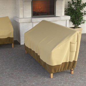Dura Covers Outdoor Patio Waterproof Cover for Loveseat, Sofa, Bench-58 Inch Heavy Duty Fade Proof with Leg Clips