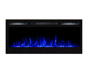 "Regal Flame Lexington 35"" Crystal Built in Wall Ventless Heater Recessed Wall Mounted Electric Fireplace Better than Wood Fireplaces, Gas Logs, Inserts, Log Sets, Gas, Space Heaters, Propane"