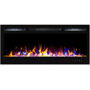 "Regal Flame Lexington 35"" Multi-Color Built-in Ventless Recessed Wall Mounted Electric Fireplace Better than Wood Fireplaces, Gas Logs, Inserts, Log Sets, Gas, Space Heaters, Propane"