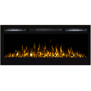 "Regal Flame Lexington 35"" Pebble Built in Wall Ventless Heater Recessed Wall Mounted Electric Fireplace Better than Wood Fireplaces, Gas Logs, Inserts, Log Sets, Gas Fireplaces, Space Heaters"