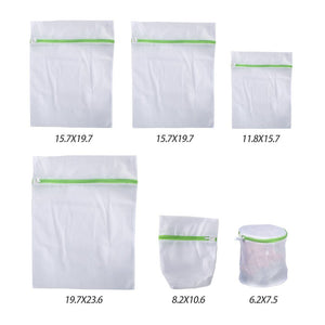 Techoss Reusable Mesh Zipper Laundry Bags for Delicates