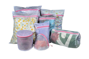 Techoss Polyester Mesh Zipper Laundry Bags for Delicates
