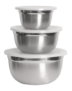 Lindy\'s Stainless Steel 3 PC Bowl Set