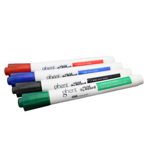 Set of 4 Markers - Assorted (Blue, Black, Green, Red)