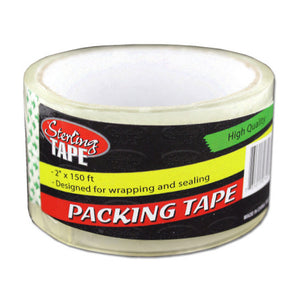 Transparent Packing Tape - Set of 18