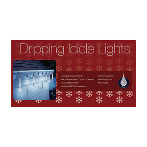 Golden Bay Enterprises Christmas Party Decoration Holiday Lights 10 Dripping Led