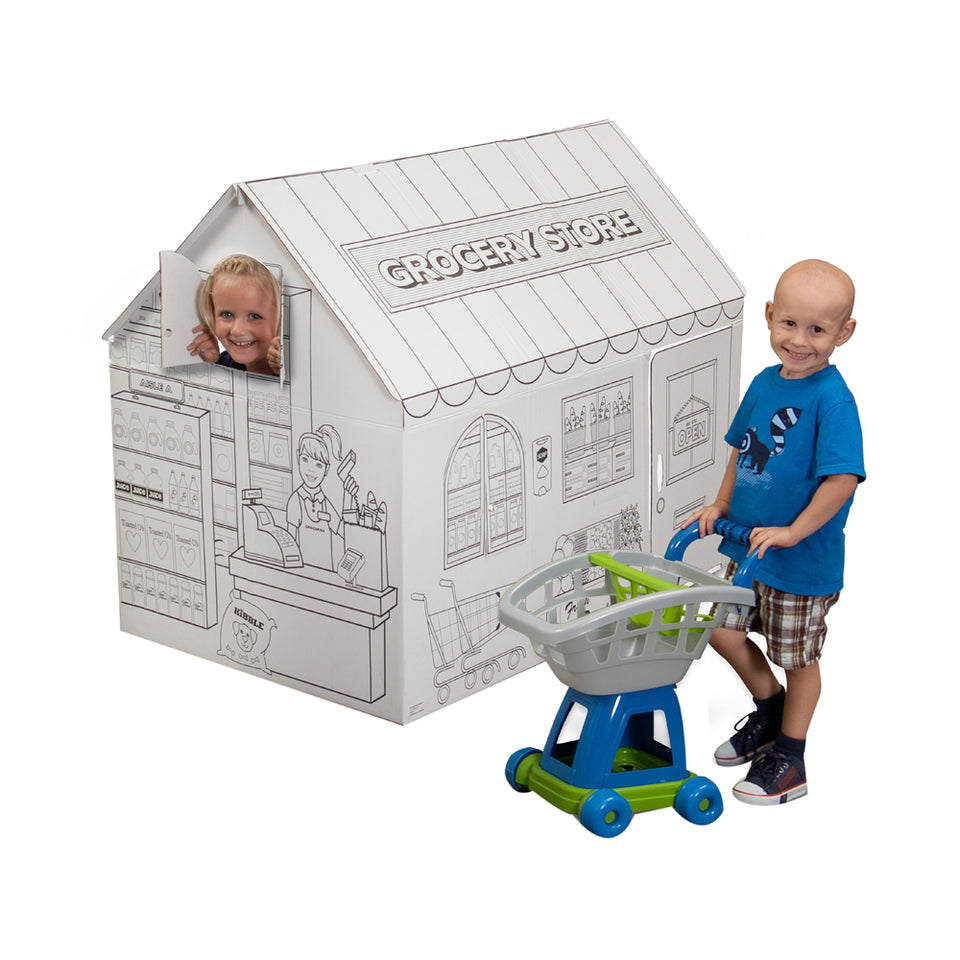 My Very Own House Coloring Playhouse, Grocery