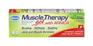 Hyland's Muscle Therapy Gel with Arnica, Natural Joint and Muscle Soreness Advanced Defense Pain Relief Formula, 3 Ounce ( pack of 6 )
