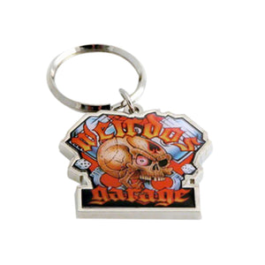 Wierdo's Garage Key Chain