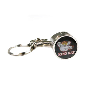 King Rat Piston Keychain