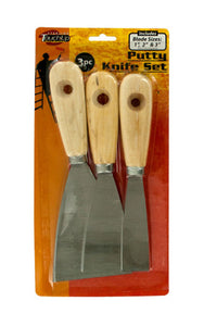 Sterling Metal Putty Knife Set, 12 Pack - Assorted