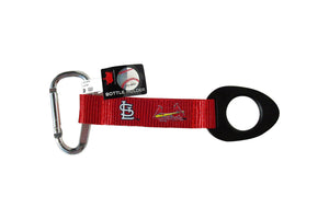 Saint Louis Cardinals Keychain Clip Strap Tag Bottle Holder Carabiner