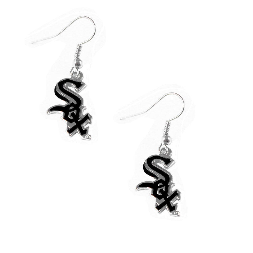 MLB Chicago White Sox Earring Dangle Logo Charm