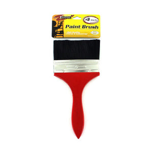 "Sterling Set Of 4 Home Indoor Outdoor 4"" Wall Paint Brush With Wooden Handle 24 Pack"
