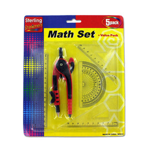 Math Set Value Pack - Pack of 24