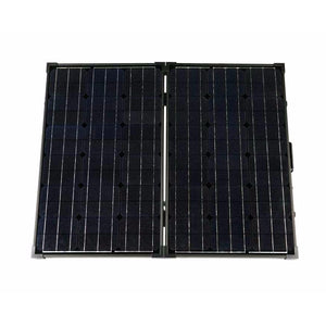 Humless 130 Watt Foldable Solar Panel with Protective Carrying Case