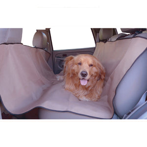 Majestic Pet Tan Universal Waterproof Hammock Back Seat Nylon Cover for Pets