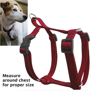 Majestic Pet 28 - 36 Inch 100 - 200 Lbs Easy Walk Pet X-Large Adjustable Harness Red for Dogs
