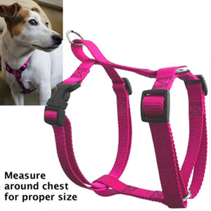 Majestic Pet 12 to 20 Inch Large 10 - 45 Lbs Easy Walk Pet Adjustable Harness Pink for Dogs