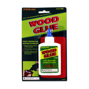 Sterling Home All Purpose Adhesive Bonding Professional Wood Glue 24 Pack