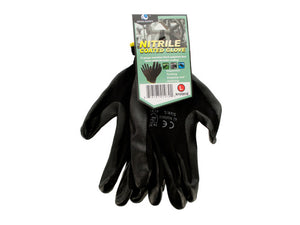 Nitrile Coated Gloves - Pack of 12