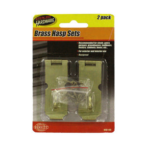 Hasp with Screws - Set of 24