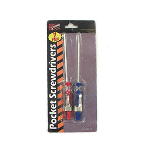 Pocket Screwdrivers - Pack of 24