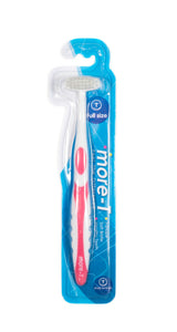 more-T toothbrush full-size 1 count