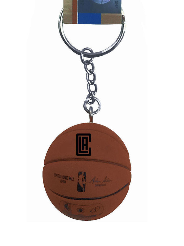 NBA LA Los Angeles Clippers Mini Basketball Sports Logo Impact Keychain