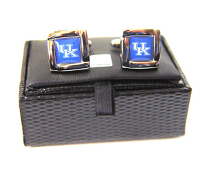 NCAA Kentucky Wildcats Square Cuff Links, Team Color, 4