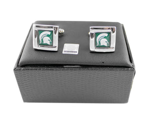 NCAA Square Cufflinks Gift Box Set