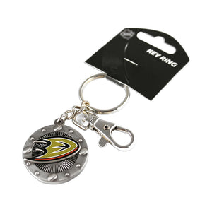 NHL Impact Keychain Key Ring Clip