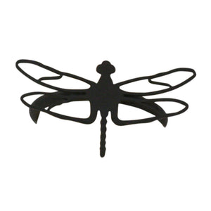 Village Wrought Iron NR-71 Dragonfly Napkin Ring - Black