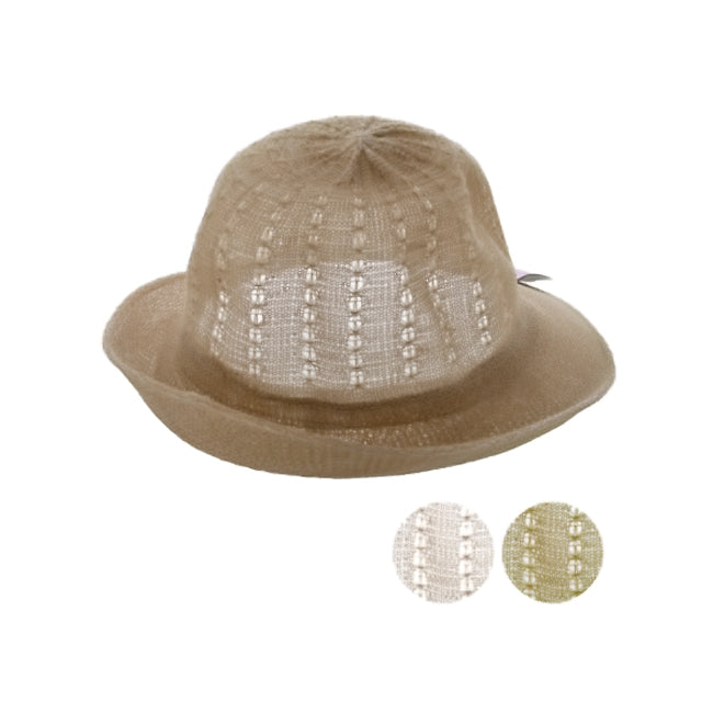 Women's Woven Fashion Hat - Pack of 12