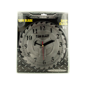 Kole Saw Blade Shop Clock