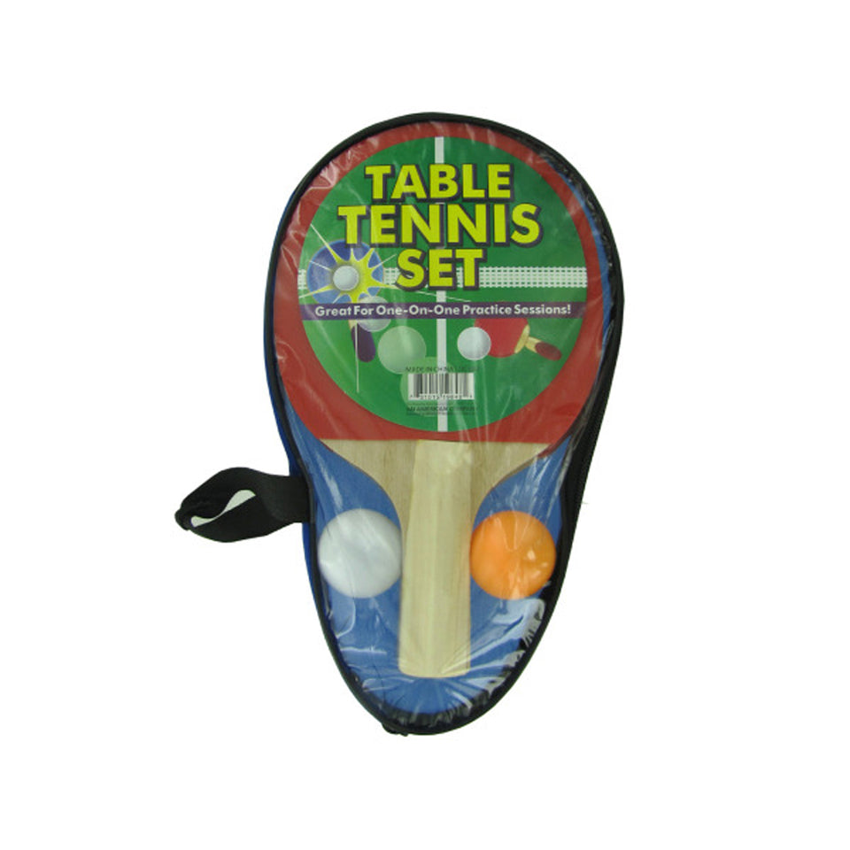 Portable Table Tennis Set - Pack of 6