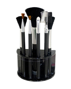 Bulk Buys Cosmetic Brush Set With Stand - Pack of 4