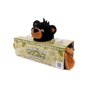 4-In-1 Bear Backpack Buddy - Pack of 5
