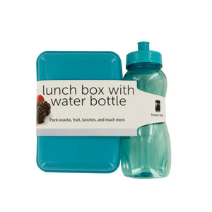 Lunch Box With Water Bottle - Pack of 4