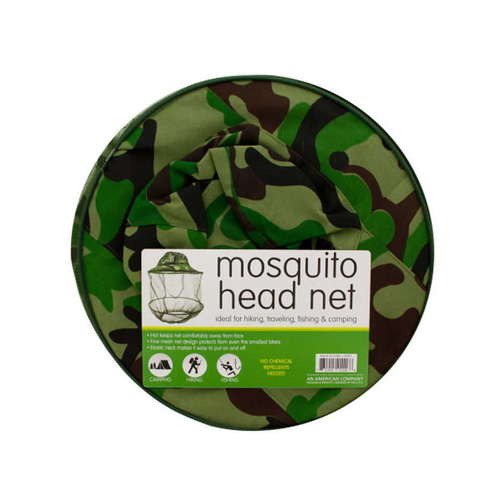 bulk buys Pest Control Insect Repeller Mosquito Head Net Hat Pack of 5