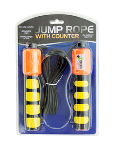 Jump Rope With Counter And Non-Slip Handles - Pack of 5