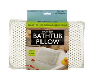 Non-Slip Bathtub Pillow With Suction Cups - Pack of 1