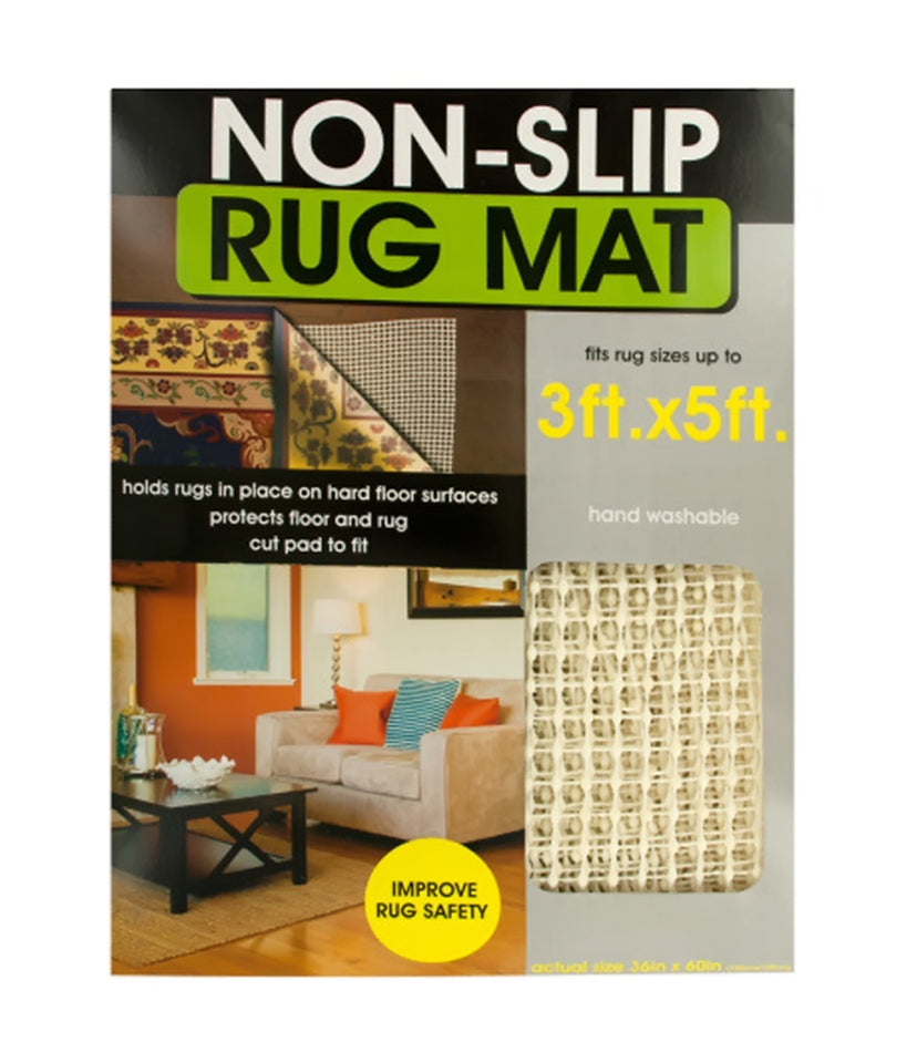 Bulk Buys Home Bathroom Decor Protective Non-Slip Rug Mat - Pack Of 4