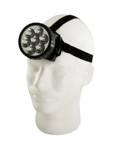 7 LED Pivoting Headlamp with Adjustable Strap (Pack of 12)