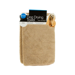 Small Super Absorbent Dog Drying Towel - Pack of 12