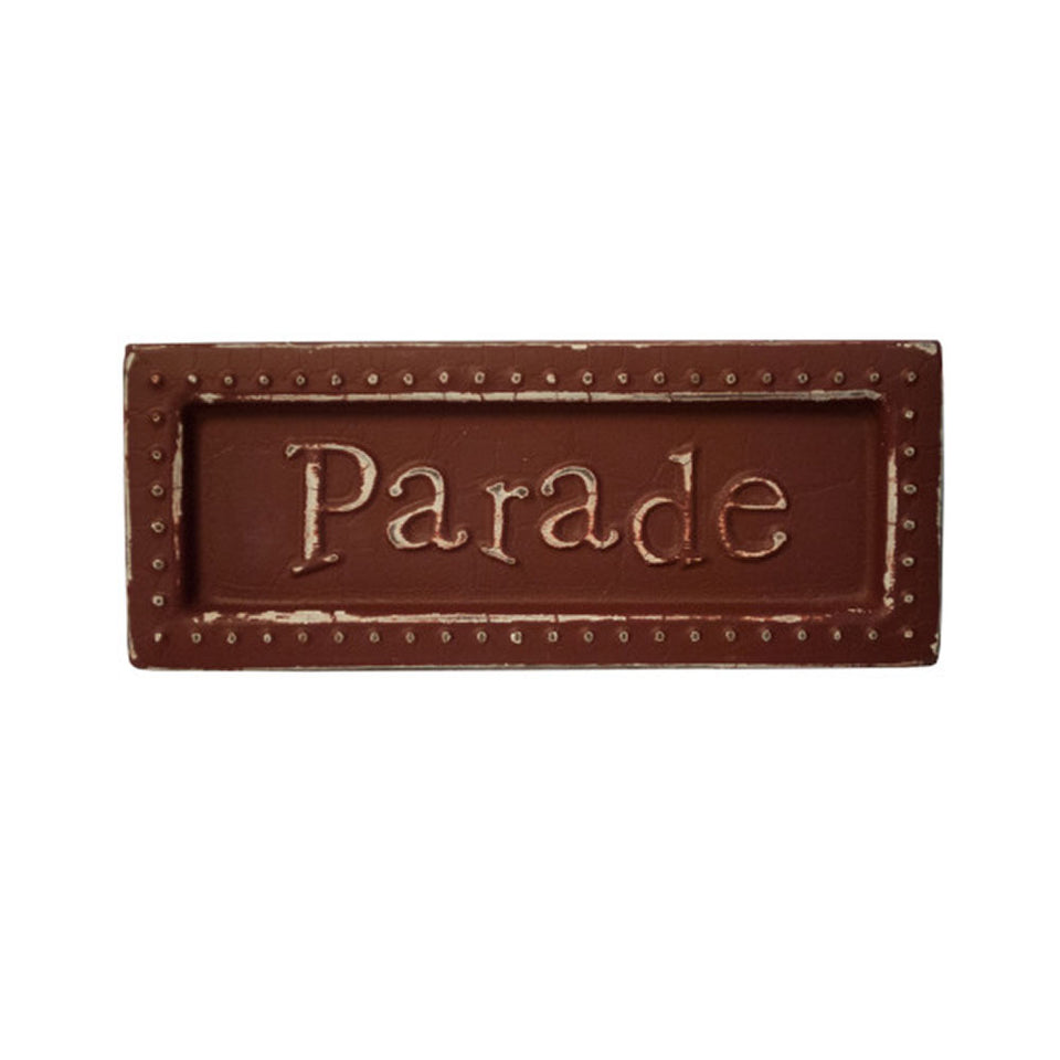 Parade Mini Metal Sign Magnet-Package Quantity,18