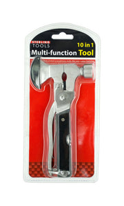 Kole Imports OF967 10 in 1 Multi-Function Hammer & Axe Tool