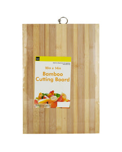 Bulk Buys Striped Bamboo Cutting Board 2-PK