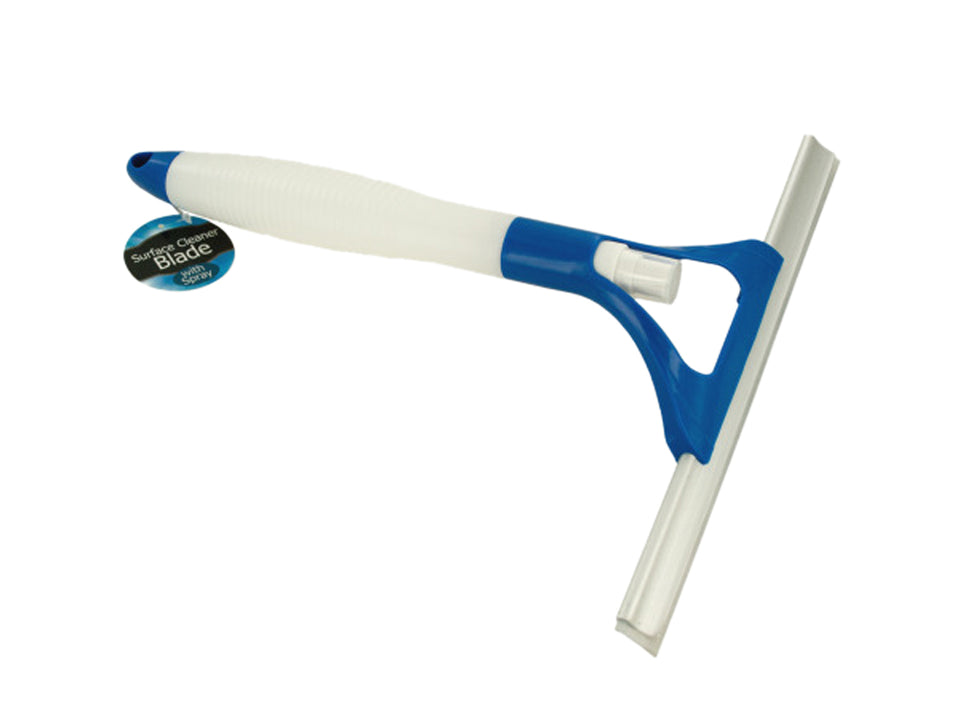 Window Squeegee with Built-In Spray Bottle - 4 Pack