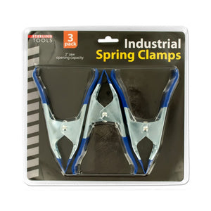 Bulk Buys Metal Spring Clamps Set - Pack of 4